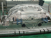 Plastic injection mold for the  BYD