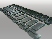 Low Volume Production(5-100pcs) Vacuum Casting from silicon