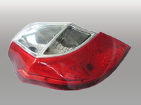 cnc prototype LED light for Automotive