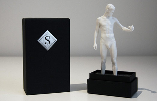 3D scanning and 3D printing rapid prototyping play well together